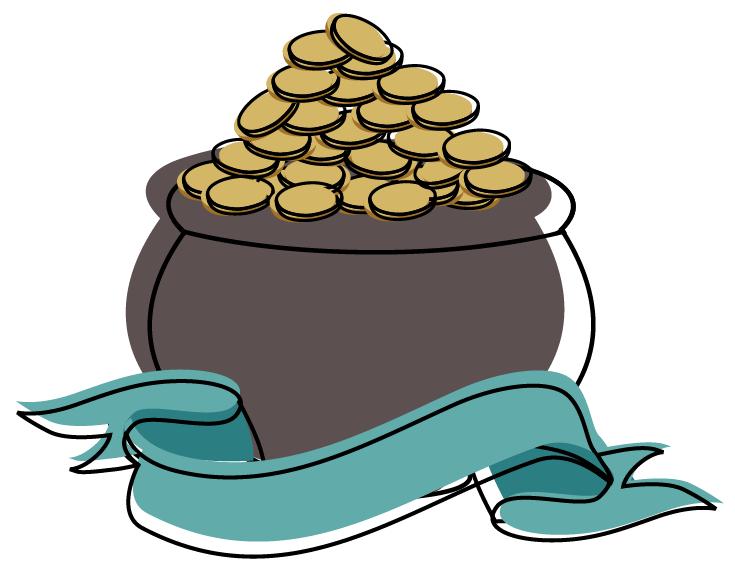 Cartoon Businessman On Pile Of Money Cash Stock Vector ... |More Money Cartoon
