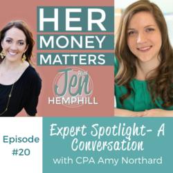HMM 20: Expert Spotlight- A Conversation With CPA Amy Northard