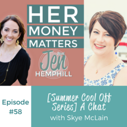 HMM 58: [Summer Cool Off Series] A Chat With Skye McLain