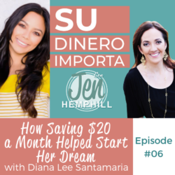 SDI 6: How Saving $20 a Month Helped Start Her Dream With Diana Lee Santamaria