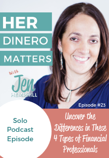 HDM 23 - Uncover the Differences in These 4 Types of Financial Professionals
