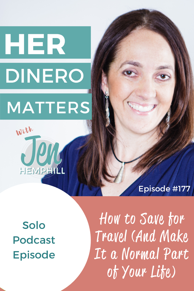 HDM 177: Save for Travel (And Make It a Normal Part of Your Life)
