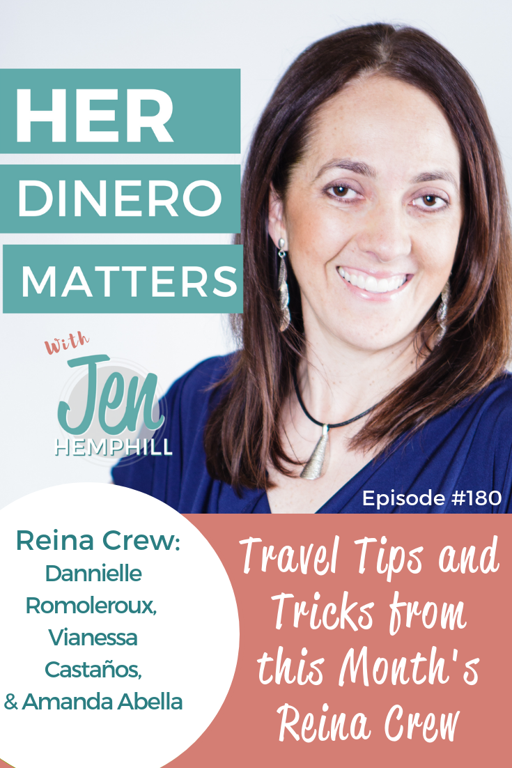 HDM 180: Travel Tips and Tricks from this Month's Reina Crew with Dannielle, Vianessa & Amanda