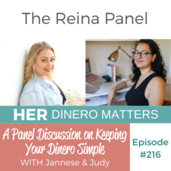 A Panel Discussion on Keeping Your Dinero Simple | HDM 216