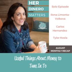 August Monthly Recap - Useful Things About Money to Tune In To (2)