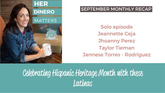 September Monthly Recap - Celebrating Hispanic Heritage Month with these Latinas (2)
